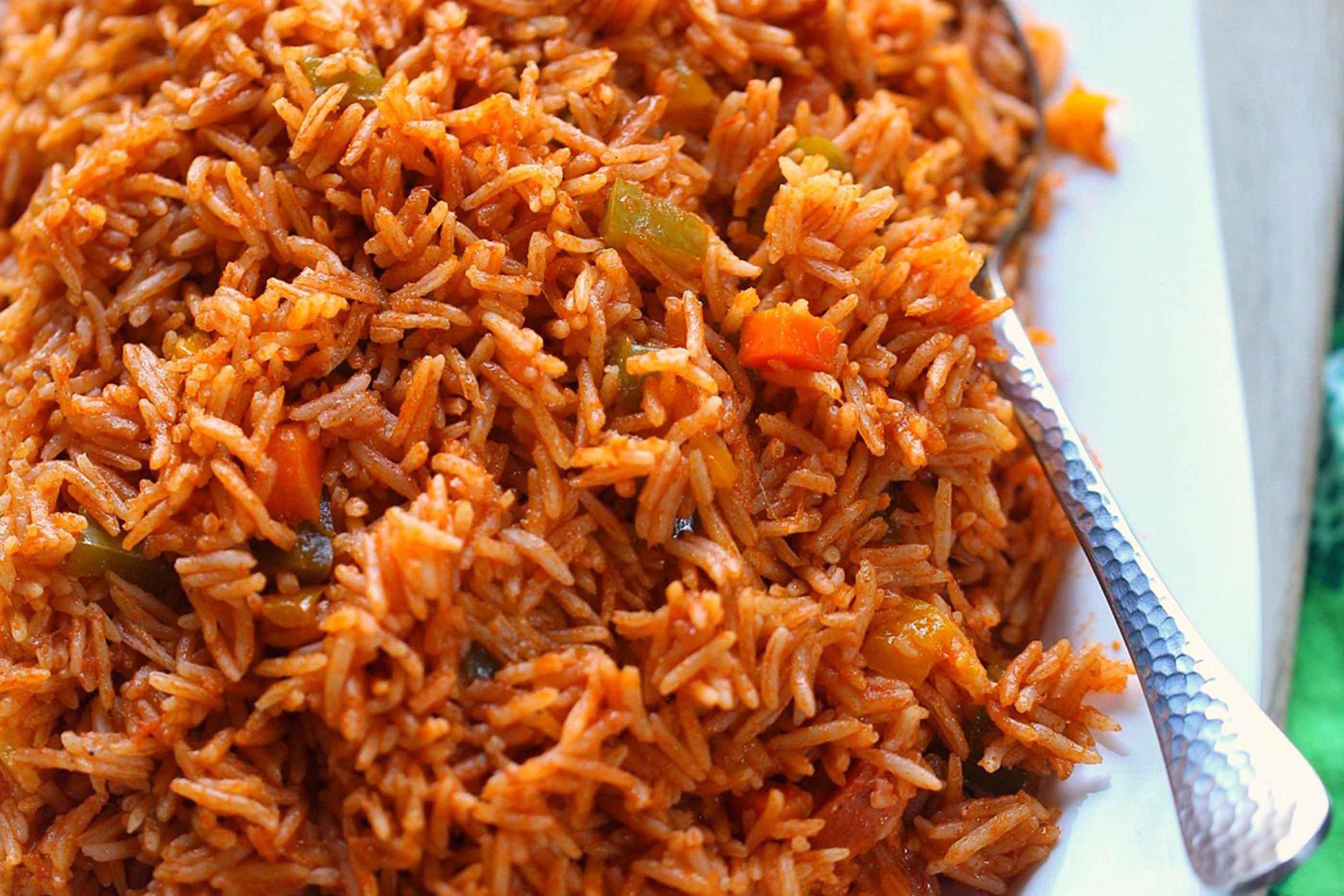 Jollof rice: National Dish of Nigeria