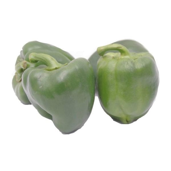 Fresh Green Pepper 4 for £1