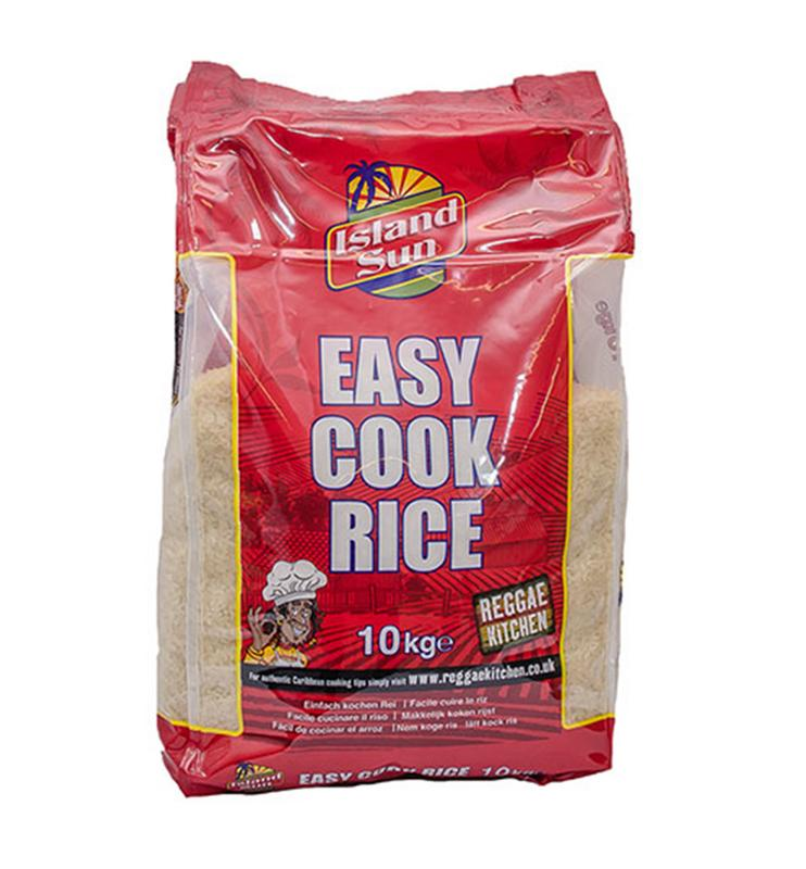 Island Sun Easy Cook Rice 10kg