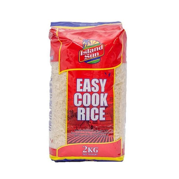 Island Sun Easy Cook Rice 2kg