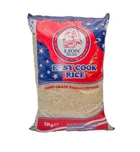 Lion Head Easy Cook Rice 5kg