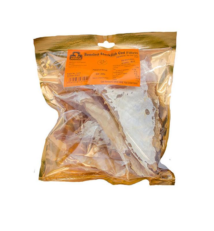 Boneless Stockfish Cod Fillets