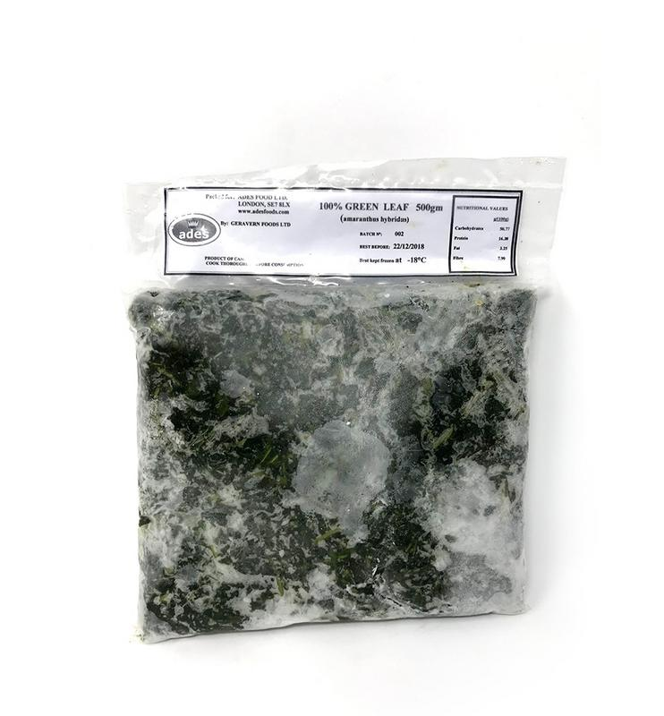 Frozen Green Leaf 500g