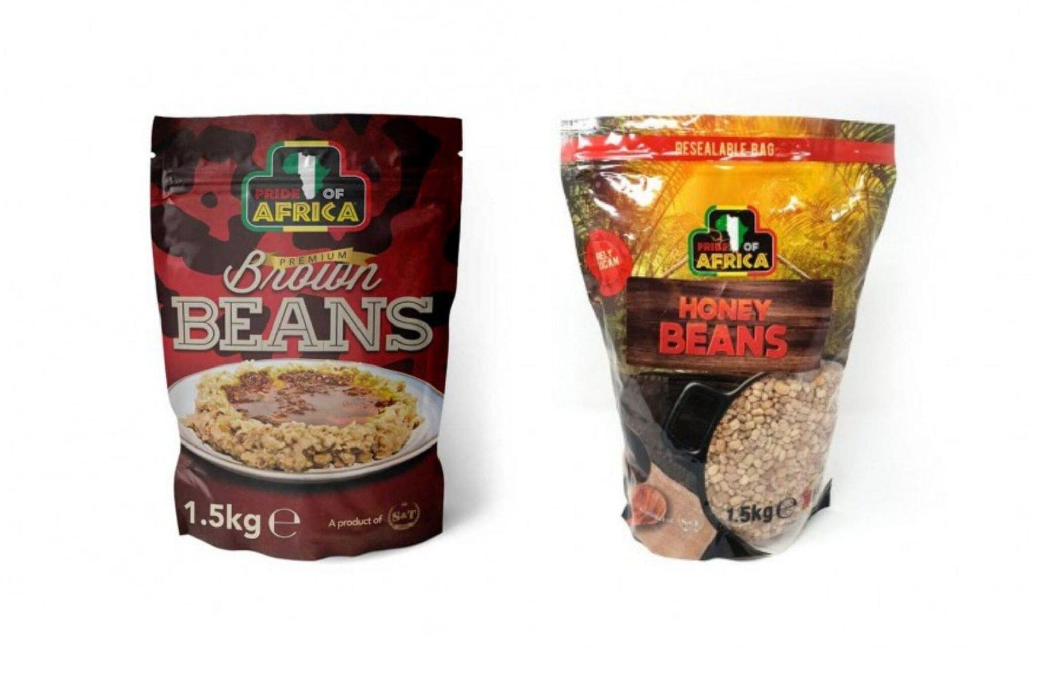 honey bean brown beans product recall